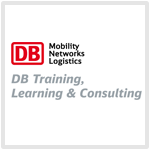 Logo Deutsche Bahn Training, Learning & Consulting